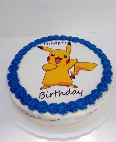 Tarta Pikachu