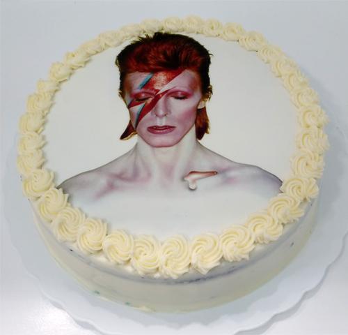 Tarta David Bowie