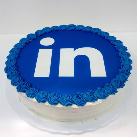 Tarta casera para Linkedin