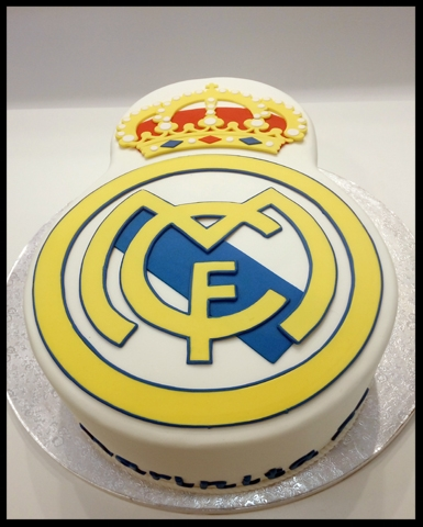 Tarta Real Madrid 3D