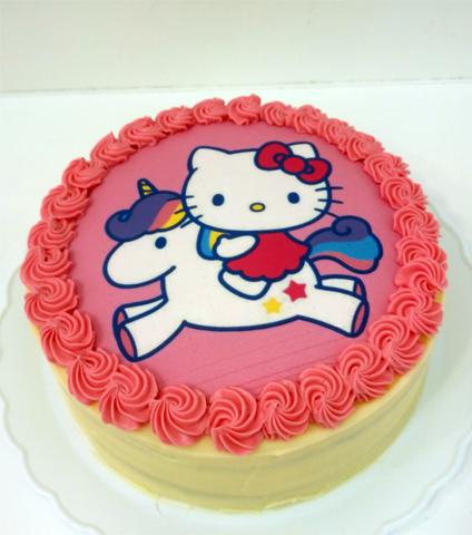 Hello Kitty en Unicornio