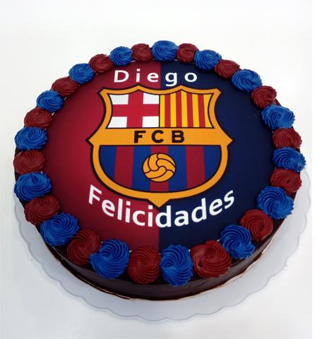 Tarta Fútbol Club Barcelona