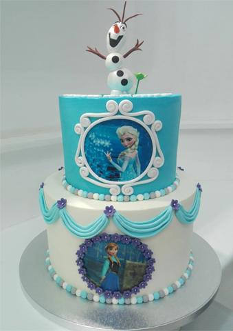 Tarta Frozen Personalizada