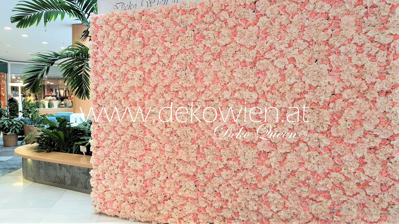 Flower wall rosa- creme/ SCS woman day