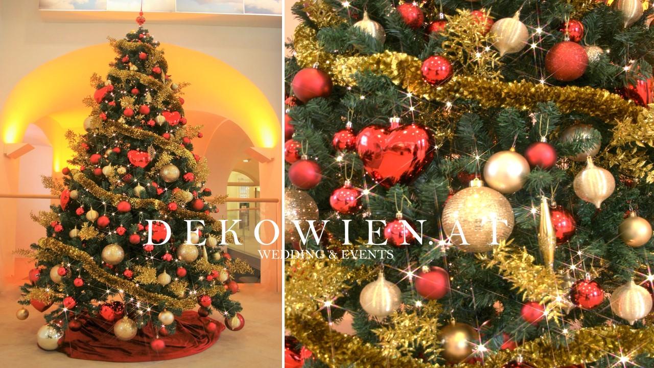 Schönbrunn Weihnachtsdekoration
