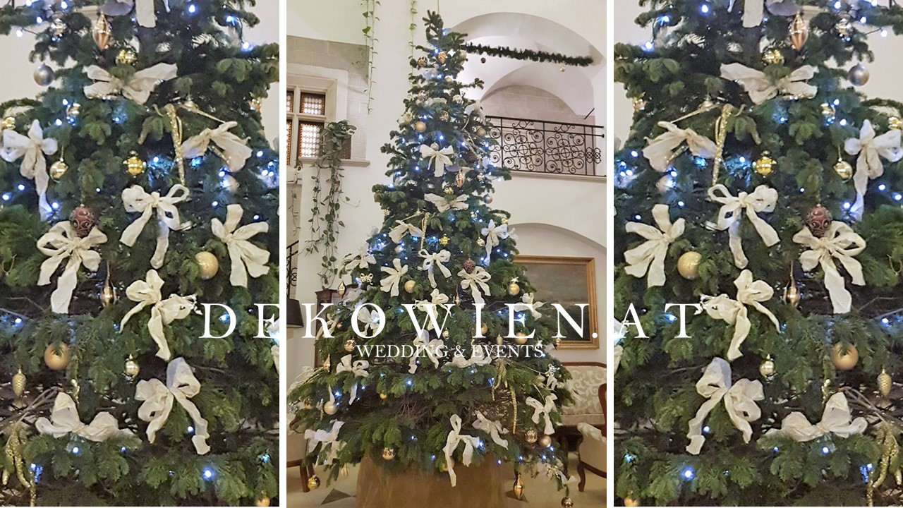 Hotel Weihnachtsdekoration Verleih