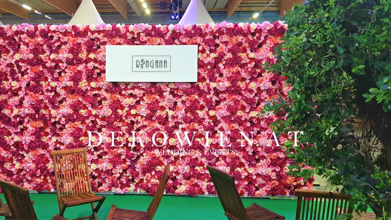 Blumenwand Vermietung/ Messe