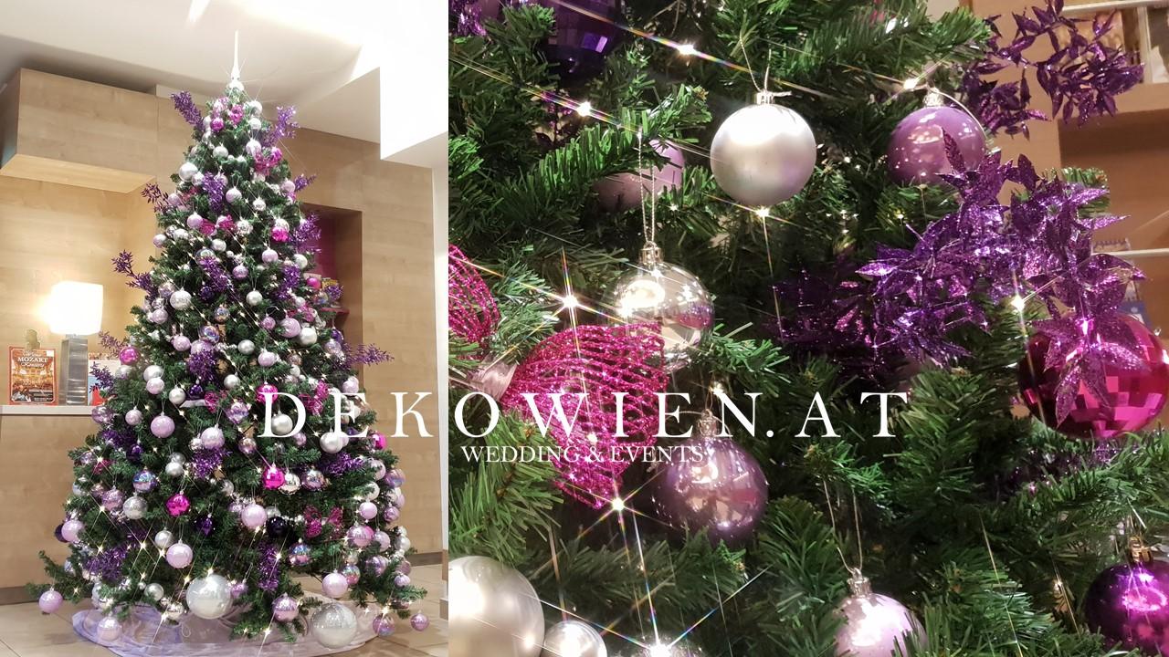 Hotel vienna Weihnachtsdekoration