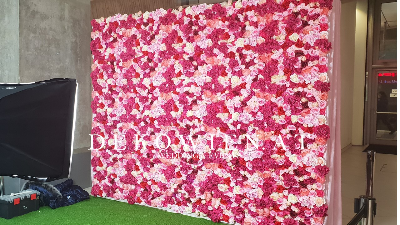 Blumenwand mieten/ Wien Mitte