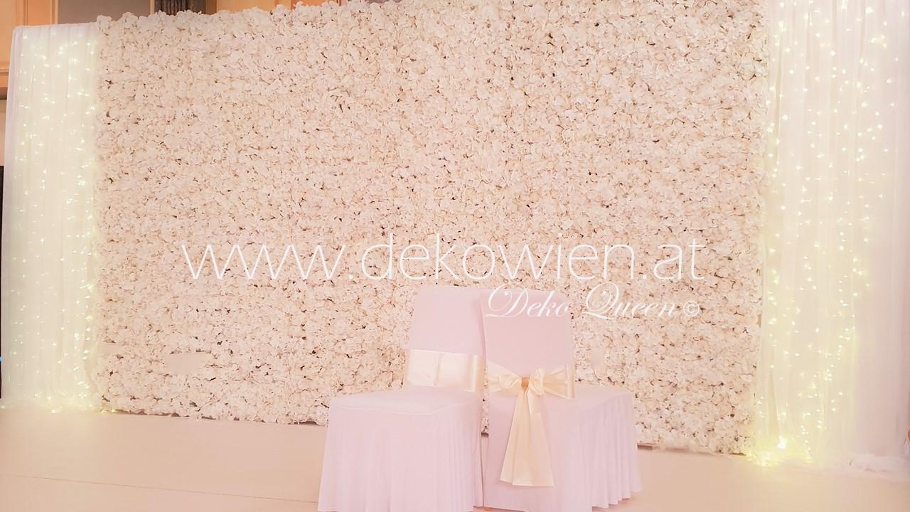 Blumenwand mieten/ Hotel Intercontinental