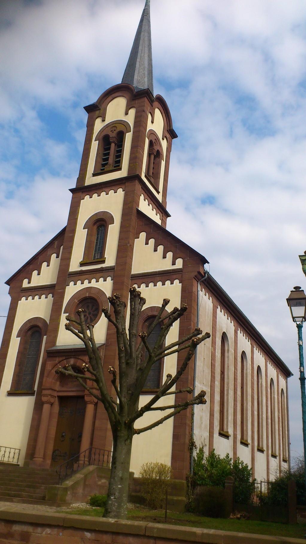 Eglise St Michel - Frœschwiller