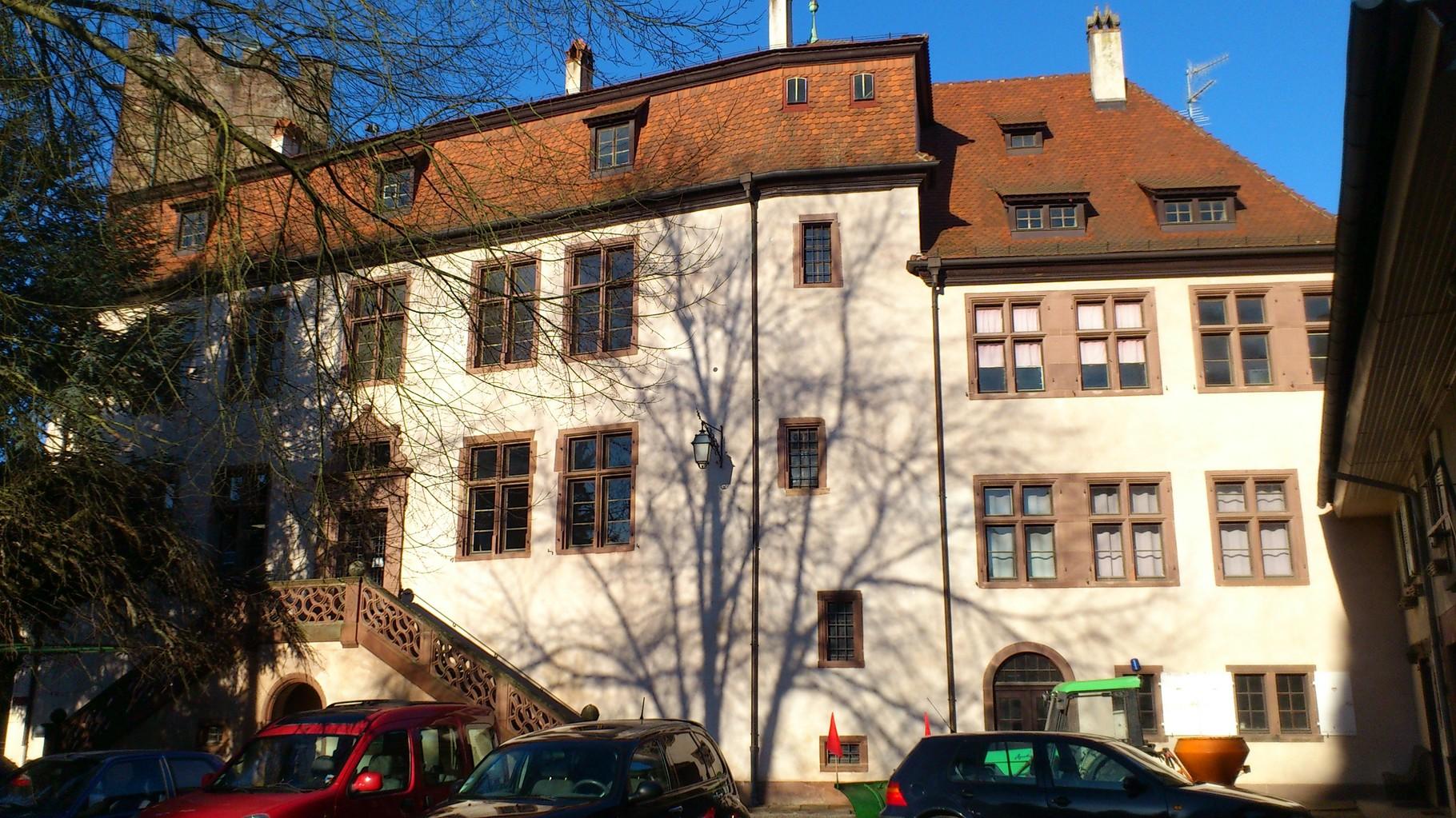Mairie- Château - Musée de Wœrth