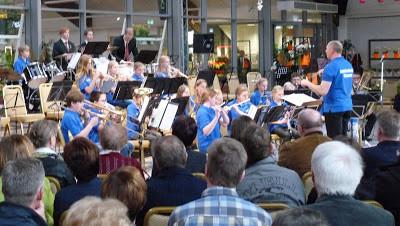 Jugendorchester beim Frühjahrskonzert 2016