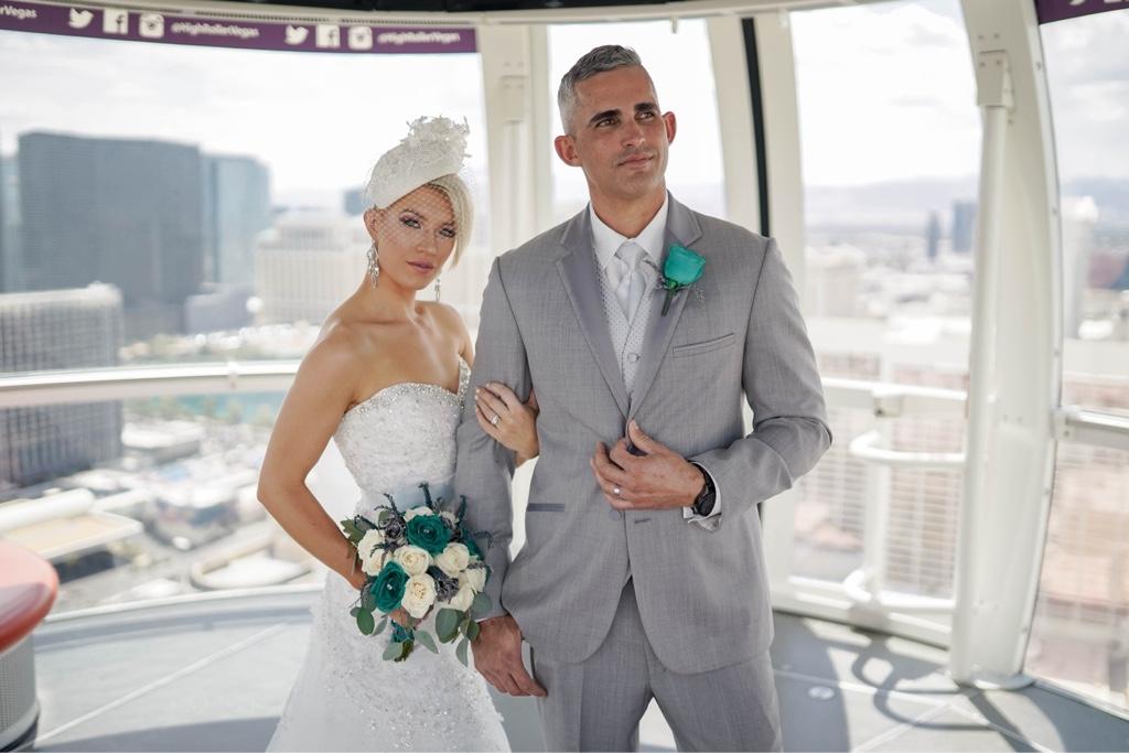 Las Vegas Riesenrad Hochzeit im High Roller am Strip