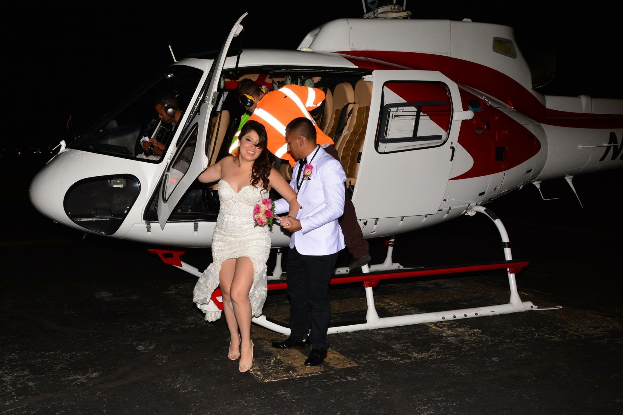 Las Vegas Helikopterhochzeit mit Sag Ja in Las Vegas