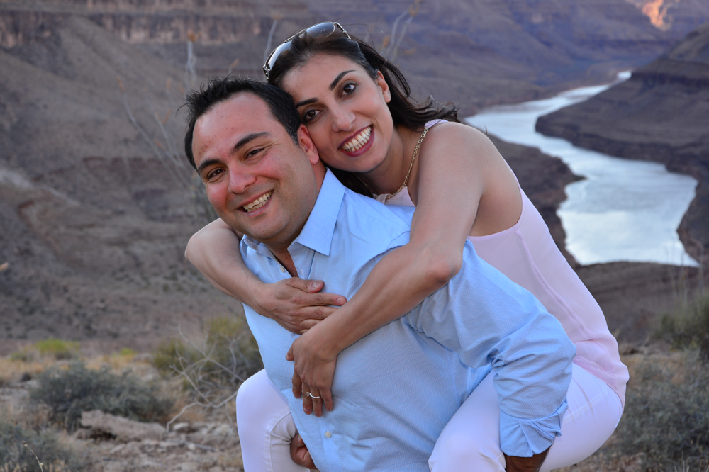 Verlobungsbilder im Grand Canyon