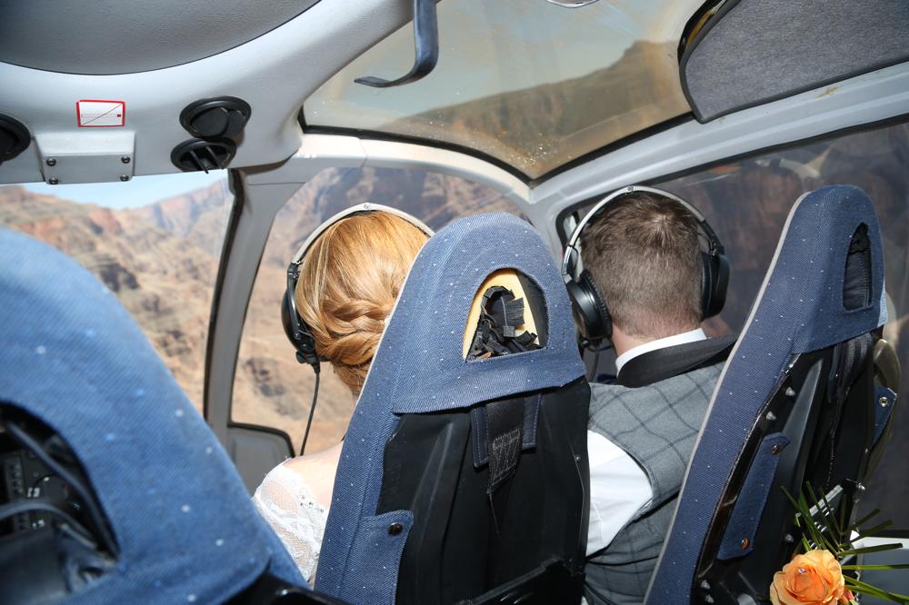 Helikopterhochzeit im Grand Canyon