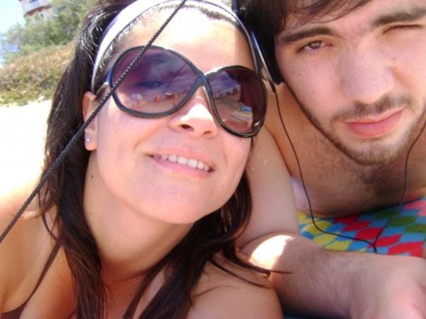 Norali y su novio