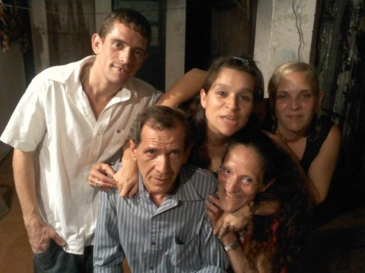 MIRTA, CARLOS, DAVID,SABRINA Y GISELA