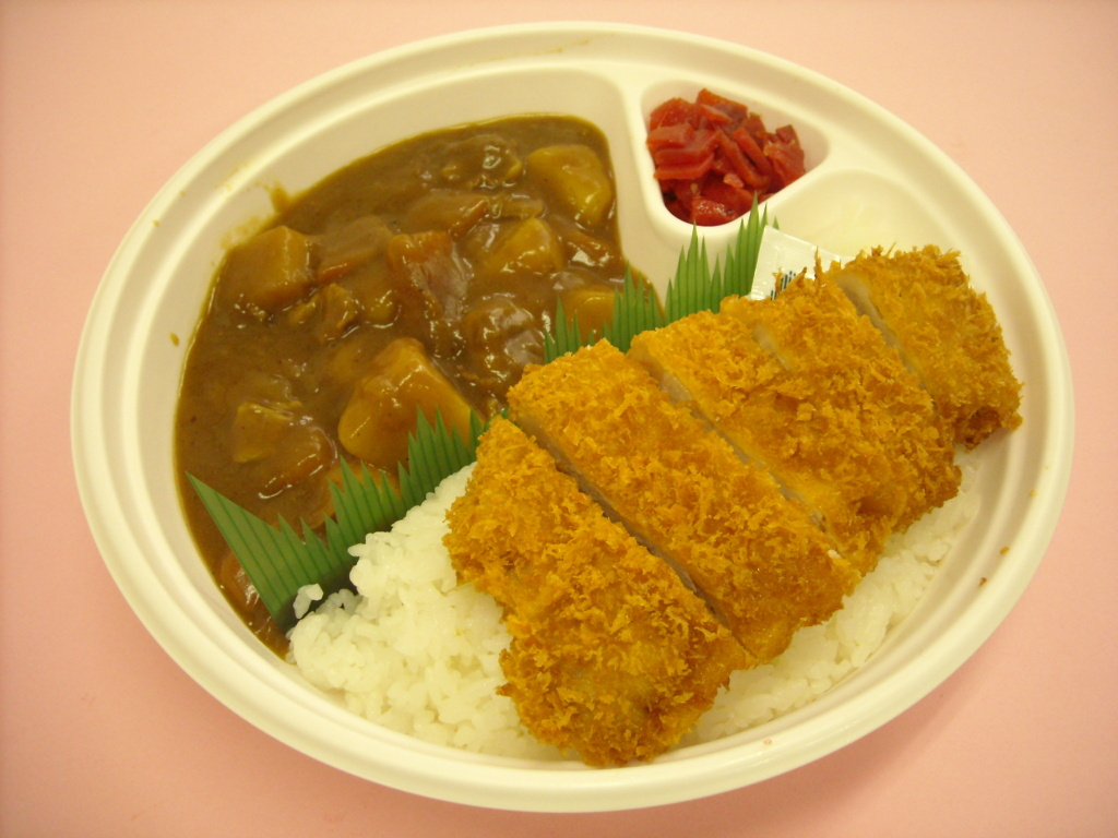 カツカレー弁当 530円
