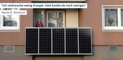 Leben mit der Energiewende TV - TV-Sendung: BALKONKRAFTWERKE: MIETER DÜRFEN SELBER STROM ERZEUGEN