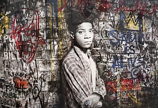 Mr. Brainwash / SAMO / 100 x 120 cm   3.000, EUR