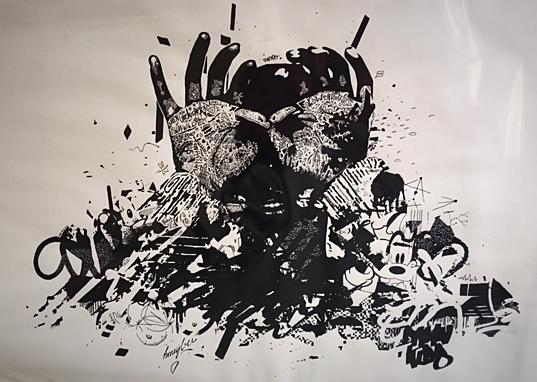 Felix Pensel / o.T.  / 70 x 100 cm    290, EUR