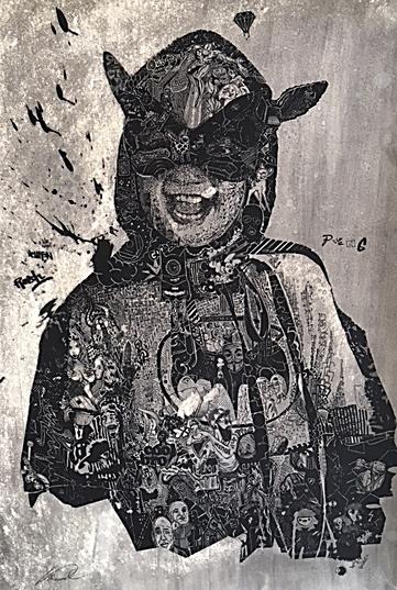 Felix Pensel / Boy  / 70 x 100 cm    600, EUR