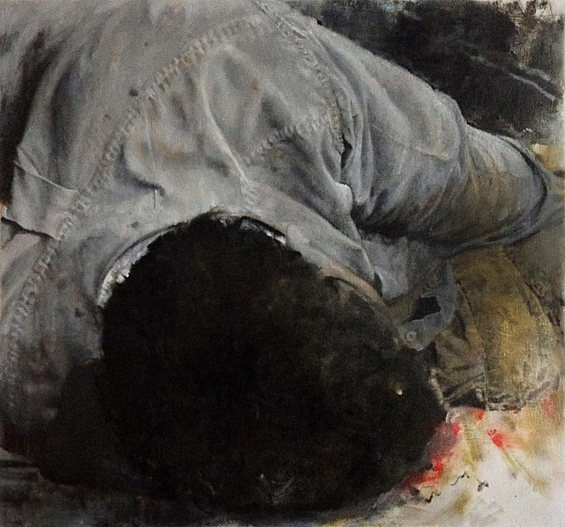 Marius Vatamanu / 5 AM  / 90 x 85 cm   1.200, EUR