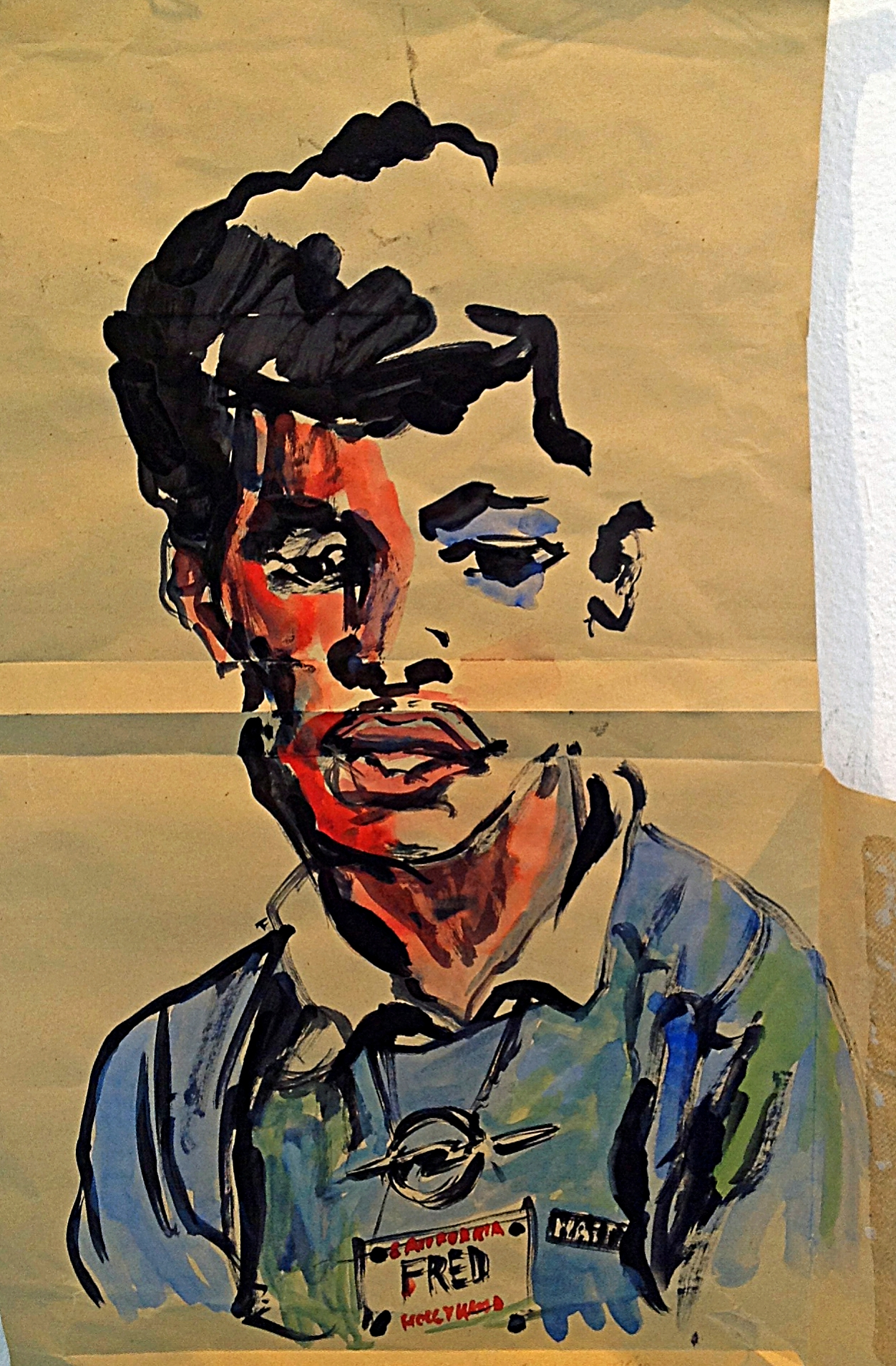 Evi Kupfer / Fred / 40 x 60 cm   450, EUR