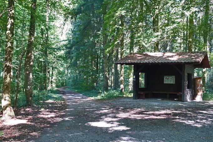 Schutzhütte, Foto: A. Treffer