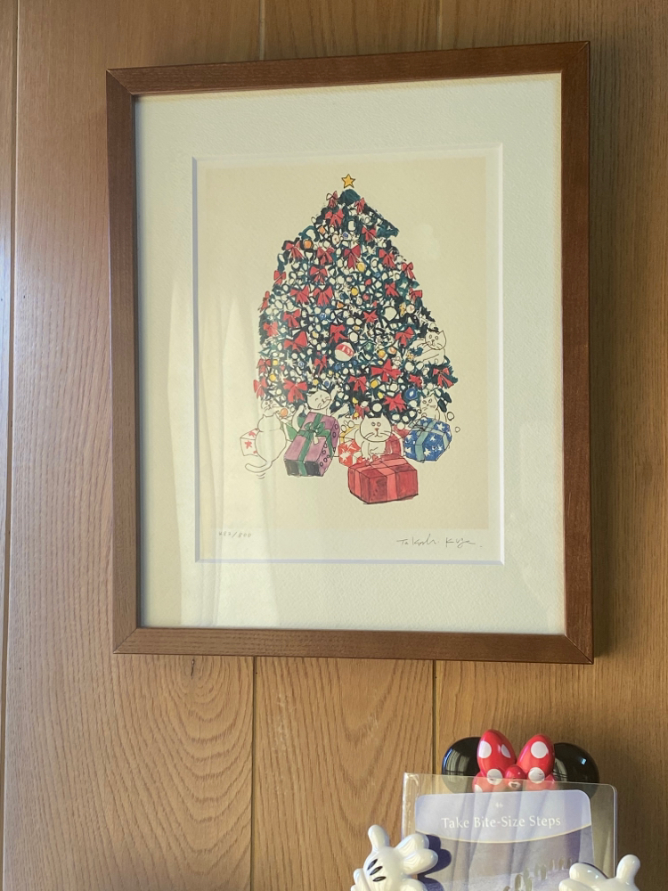 今日送ってもらった『にゃおんのクリスマス』