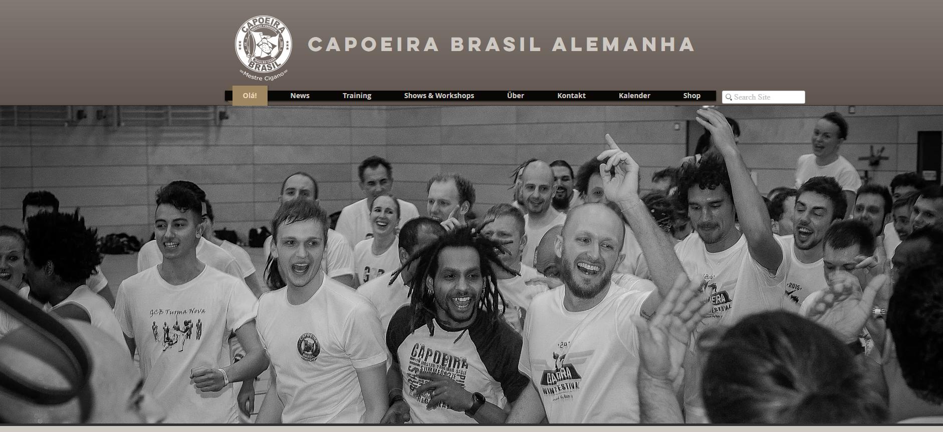 Relaunch der Website eines Capoeira-Vereins. Aufgaben: Strukturoptimierung, Verfassen der Texte, Einbau des vorhandenen Bildmaterials. Und natürlich...