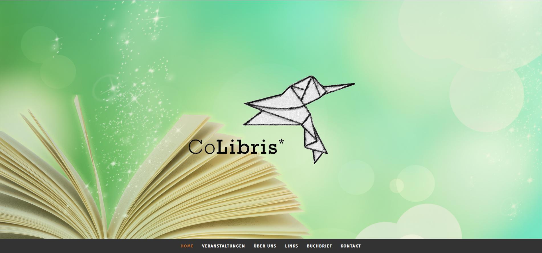Relaunch. Website für einen Bücherförderverein. Meine Aufgaben: Komplette Neustrukturierung der Website inkl. Auswahl von Bildmaterial und Schreiben der Texte