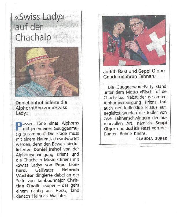 Neue Luzerner Zeitung vom 21.02.2014