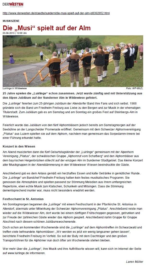www.derwesten.de vom 3.9.2013