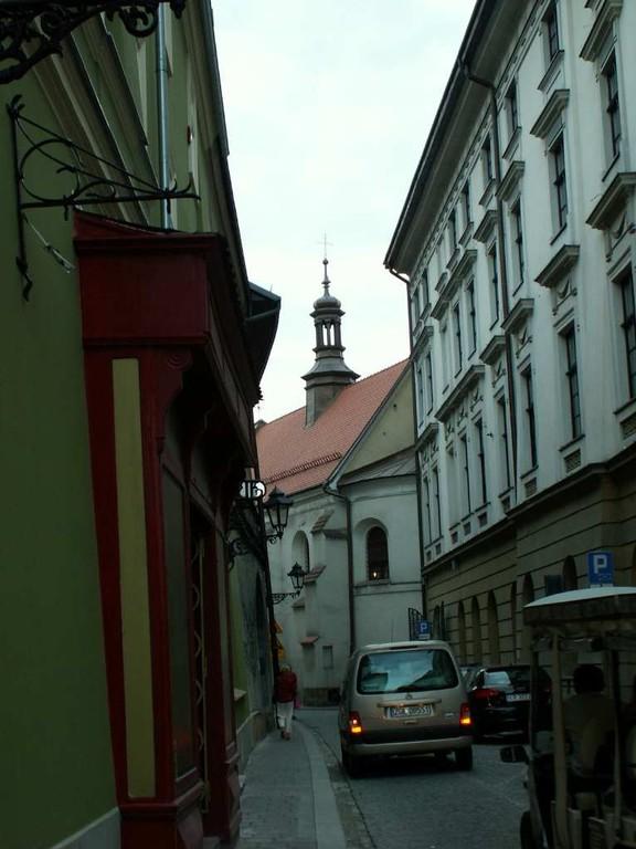 Im alten Judenviertel von Krakau