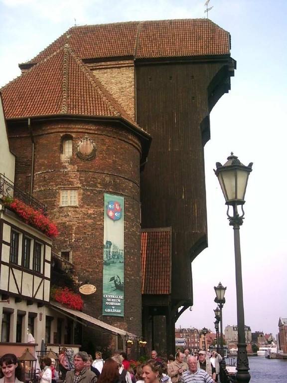 Das Kranentor in Danzig