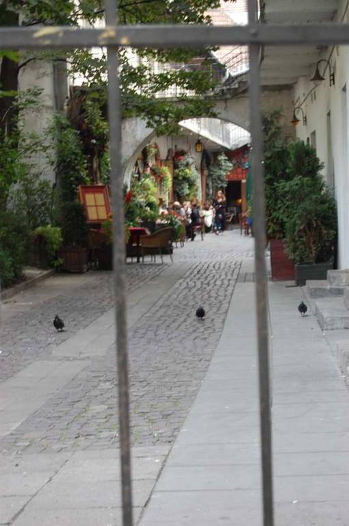 im Judenviertel von Krakau
