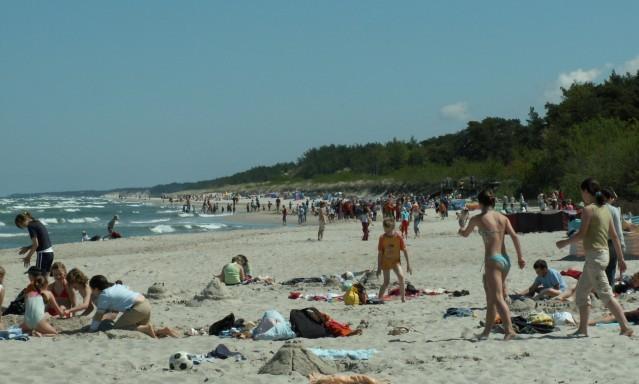 Ostseestrand bei Leba