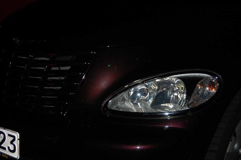 Ein Auge von Cruiserandy's neuem Street Cruiser IV