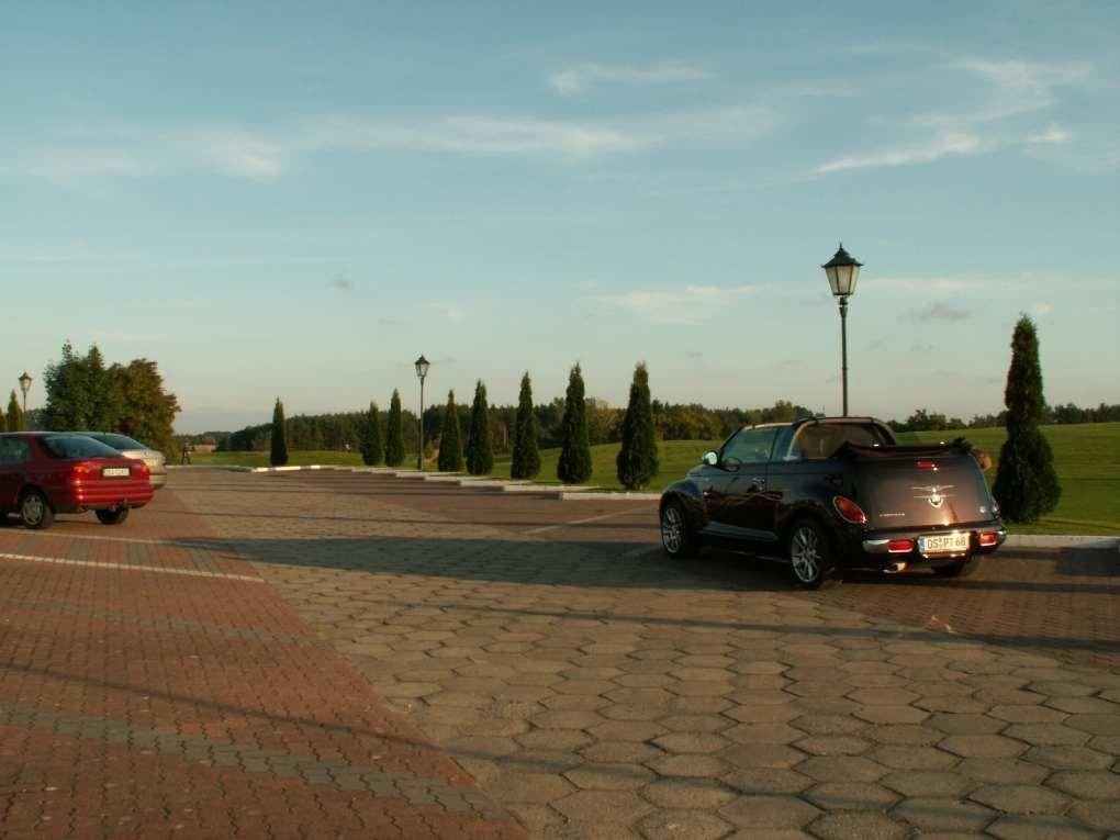 Golfplatz auf Wollin