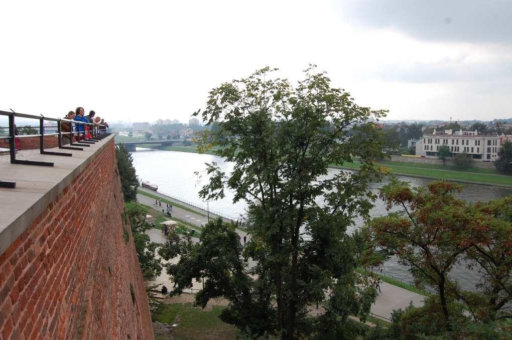 Blick vom Wawel in Krakau