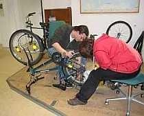 Freizeitangebot Fahrradwerkstatt