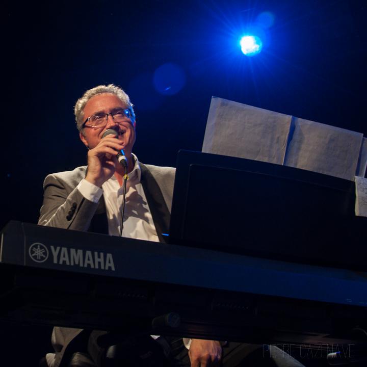 Jacques Ballue; Jazz Vibes Quartet, soirée JAZZ360, Cénac. 20/10/2018. Photographie : Pierre Cazenave