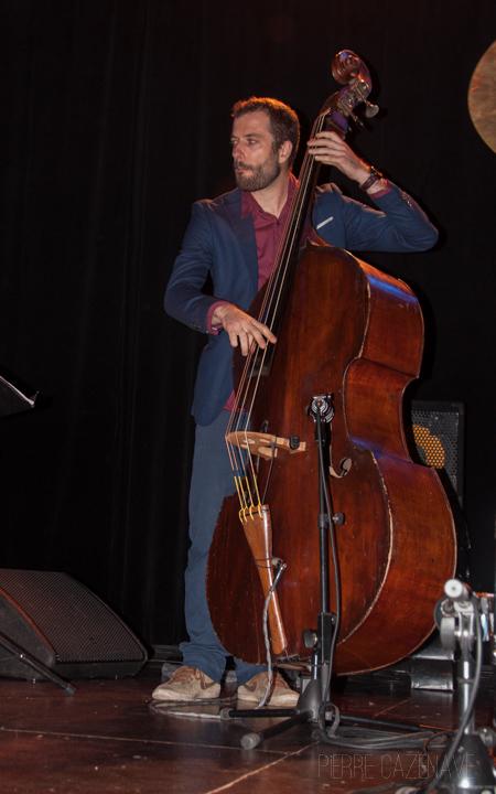Aurélien Gody; Jazz Vibes Quartet, soirée JAZZ360, Cénac. 20/10/2018. Photographie : Pierre Cazenave