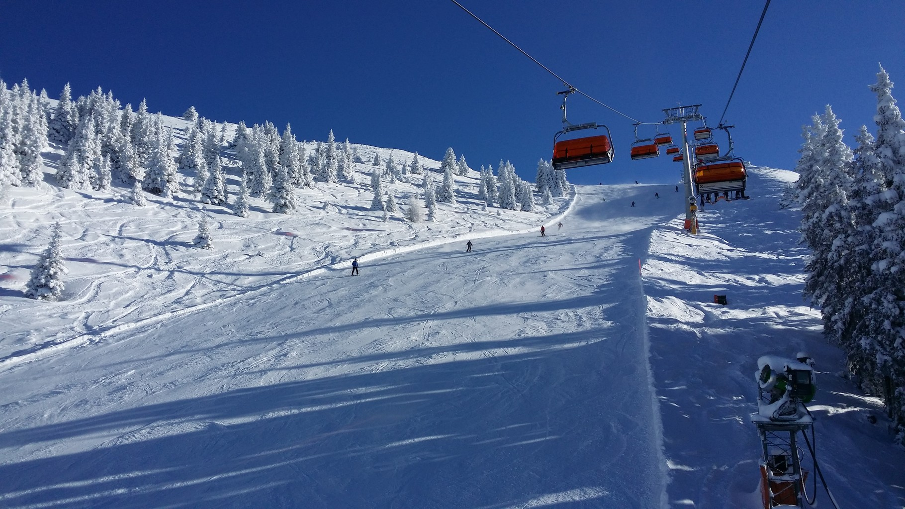 Black slope Gipfellift Hauser Kaibling