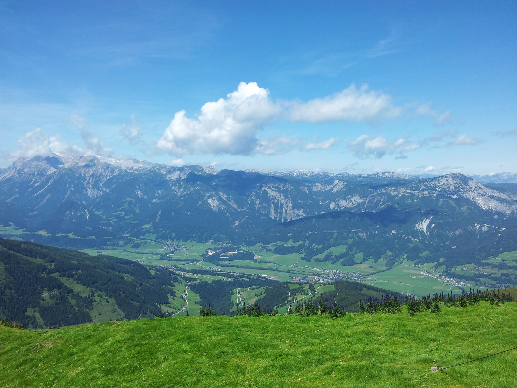 Die schöne Aussicht vom Pleschnitzzinken