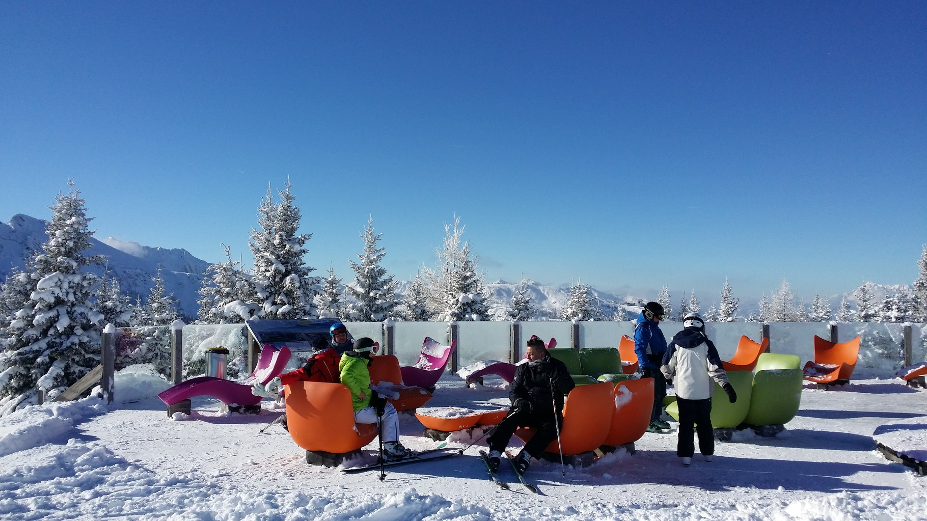 Free WLAN im ganzen Skigebiet