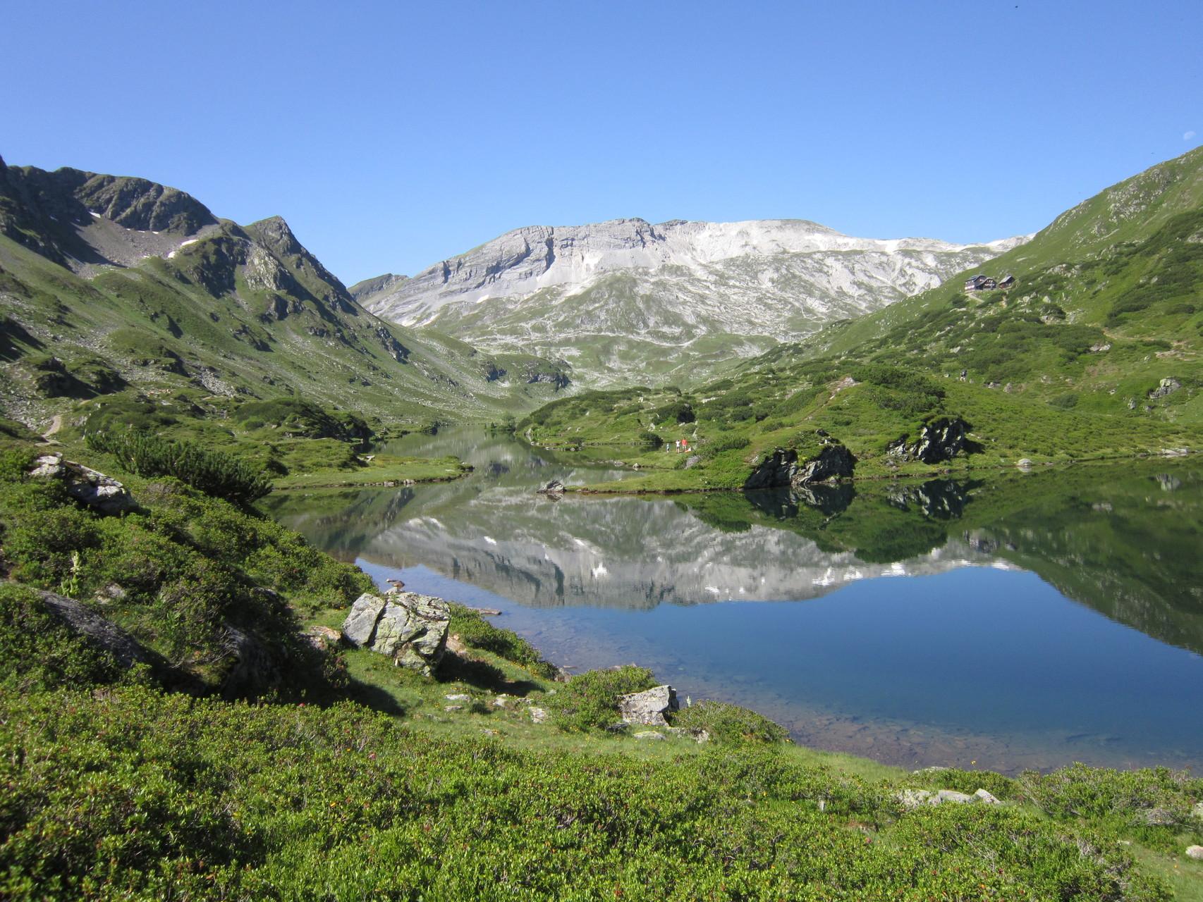 Himmlische Bergseen